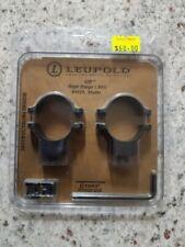 LEUPOLD SCOPE RINGS HIGH RINGS (.900) 49979 MATTE
