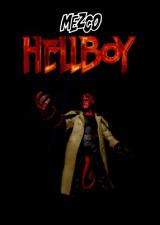 "Mezco Toys Hell Boy 2004 Film Series: HELLBOY (Cigar) 7"" Movie Action Figure"