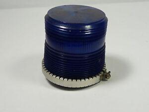 Star Light & Lantern Co. 20ZI-SB Flashing Incandescent Light 120V Blue ! WOW !