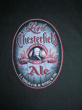New Promo LORD CHERSTERFIELD ALE D.G Yuengling & Son Pottsville PA t-shirt Men L
