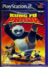 PS2 Kung Fu Panda (2008), UK Pal, Brand New & Sony Factory Sealed