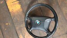 Original bmw 3er e36 volante de cuero airbag volante volante de cuero airbag 1092038