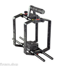 Filmcity 9ft Cube Camera Cage with Quick Release and top handle for DSLR camera