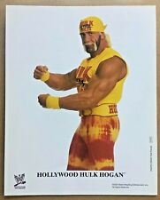 Hulk Hogan official original 8x10 WWE PROMO WWF photo p-757 NWO WCW NXT AEW