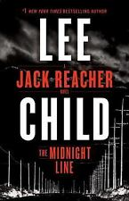 Jack Reacher: The Midnight Line 22 by Lee Child (2017, Hardcover)