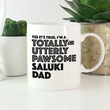 More details for saluki dad mug: funny gift for saluki dog owners & lovers! saluki dog gifts