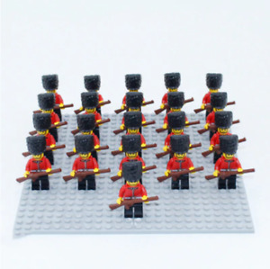 21 pcs Minifigures lego MOC Soldiers and Weapons to protect the palace lego MOC