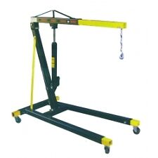 Hydraulic Workshop Garage Engine Crane Hoist 1 Ton Adjustable Boom PART NO 1000
