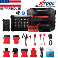 XTOOL PS90 OBD2 Auto Diagnostic Scanner Tool All System Programmer/Odometer DPF
