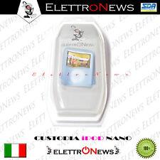 Custodia,Tpu,Cover In Gomma Morbida Celeste Per Ipod Nano