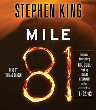"Mile 81 : Includes Bonus Story ""The Dune"" by Stephen King (2012, CD, Unabridged)"