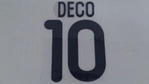 DECO #10 FC Porto Home & Away 2000-2001 Name Set