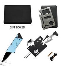 Credit Card Multitool Pocket Tool Kit Wallet W Upgrade 18 IN 1 Survival 11 EDC F