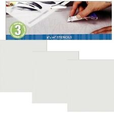 90f01ee8b691 Simply Stencils Value Pack Blank Stencil Making Sheets 3mil 8