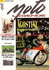 MOTO LEGENDE  32 TRIUMPH 750 Trident YAMAHA 125 YAS1 HONDA CD Giacomo AGOSTINI