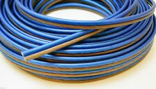 100 Ft 10 Gauge Speaker Wire Cable Car Home Audio AWG 100' Blue Black Wire