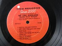 Bourbon Street Stompers We Like Dixieland 1964 Album LP Time Records 52118 Jazz