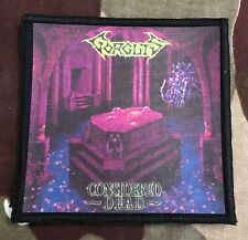 Gorguts Considered Dead Printed Patch G024P Death Bolt Thrower Suffocation