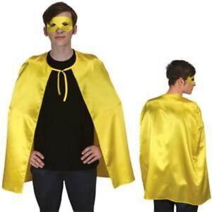 "Superhero Cape (Choose Your Color) 36"" Adult Super Hero Costume Halloween"