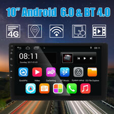 10'' Android Double 2DIN Car Dash Stereo Radio MP5 Player GPS Navigation 4G Wifi