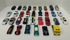Hot Wheels, Matchbox Lot of 33 Loose Diecast & Plastic Cars Trucks