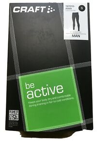 Craft Be Active Ski Outdoors Bike Under Layer Leggings Small