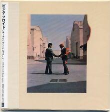 PINK FLOYD WISH YOU WERE HERE CD MINI LP OBI Gilmour Mason Barrett Waters Wright