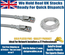 BRAND NEW GREY 1.5M RJ45 CAT6 ETHERNET NETWORK Patch Cable SKY FAST FREE POST