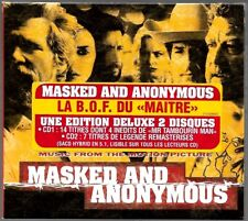 MASKED AND ANONYMOUS (B.O.F SOUNDTRACK O.S.T) BOB DYLAN EDITION DELUXE 2 CD