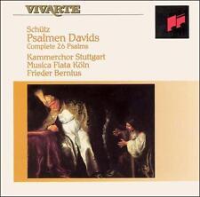 SCHTZ: PSALMEN DAVIDS NEW CD