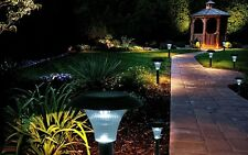 Lot of 16 - Solar Powered LED Garden Stake Lights Perfect for Path Driveway