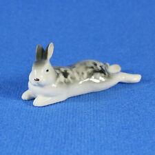 """Rabbit """"Lezheboka"""" Figurine Lomonosov Porcelain Russia LFZ"""