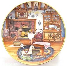 Saturday Night Bath Karyn Bell Franklin Mint Heirloom Collectors Plate