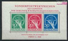 Berlin (West) Block1 (kompl.Ausg.) mit Falz 1949 Währungsgeschädigte (9293562