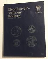 EISENHOWER/ANTHONY (1971-1981) #9023 COIN FOLDER BY WHITMAN-NEW OLD STOCK