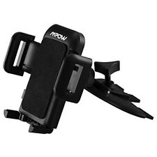 Mpow CD Slot Car Mount Universal Cell Phone Holder Three Side Grips Smartphones