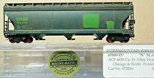 Chicago & North Western Intermountain N Scale ACF 4650 Center Flow Hopper Patch