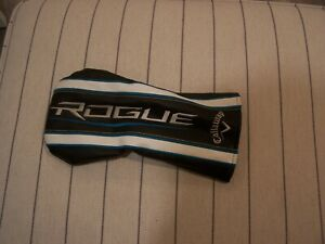 "CALLAWAY ROGUE DRIVER HEADCOVER 460cc BLACK/WHITE/BLUE ""GREAT SHAPE"""