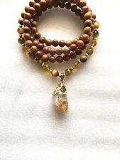 Sacral Chakra Healing Mala , Awakening Sacral Chakra Jewelry, 108 Sacral Chakra