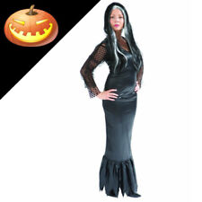 Halloween Addams Family, Morticia Fancy Dress Party Costume. Size Medium.12/14