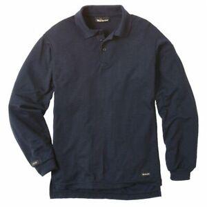 Workrite Flame Resistant Clothes Henley FR Knit Polo Shirt Work Uniform