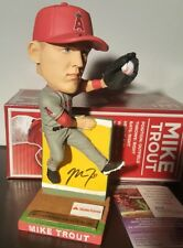 Mike Trout Signed Autographed Bobblehead JSA AUTHENTIC COA
