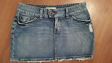 BKE Buckle CULTURE Jean Skirt size 27  Distressed 100% Cotton
