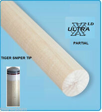 "NEW Tiger XLD Low Deflection Shaft Partial -12.75mm - 30"" - Shaft Blank - XLD-P"