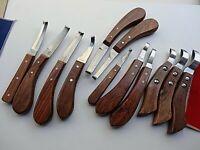 Assorted Horse Hoof Knife /Knives Eye Loop,Offset,Double Single Edge,Also Left
