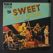 SWEET: Hell Raiser / Burning 45 (Spain, PS w/ sl wear, dj) Rock & Pop