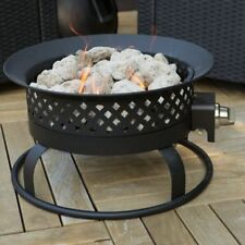 Outdoor Propane Fire Pit Portable Deck Patio Backyard Camping Gas Heater New
