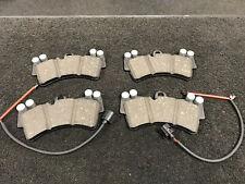 PORSCHE CAYENNE VW TOUAREG Q7 BRAKE PAD FRONT BRAKE PADS * SENSORS