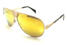 Authentic DIESEL Rubberized Gold Pilot Sunglasses DL 0134 - 28L *NEW*