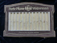 rare présentoir velours IDEAL WATERMAN ART DECO stylo plume 27 x 40